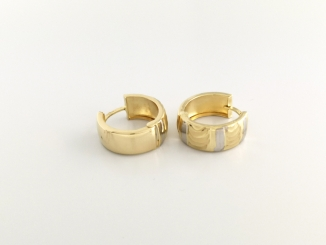 Zlaté náušnice DO20145