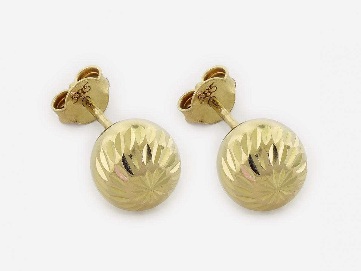 Zlaté náušnice DO20074