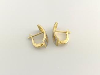 Zlaté náušnice DO20122