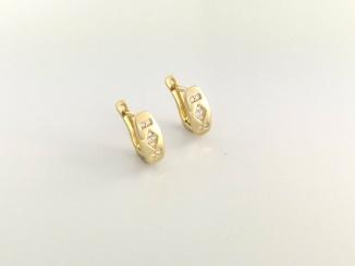 Zlaté náušnice DO20141