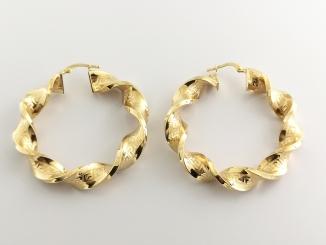 Zlaté náušnice DO20154
