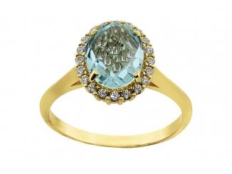 Zlatý prsteň PR21002