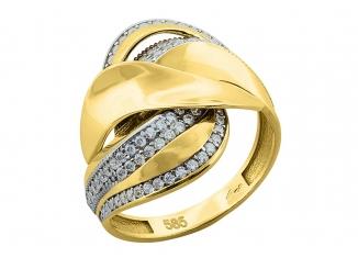 Zlatý prsteň PR21015