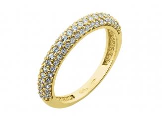 Zlatý prsteň PR21017
