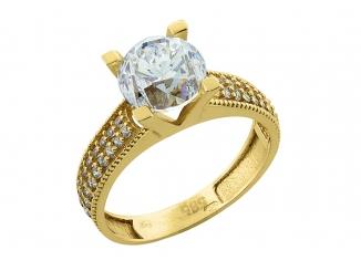 Zlatý prsteň PR21016