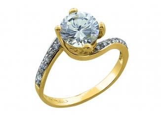Zlatý prsteň PR21018