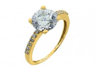 Zlatý prsteň PR21020