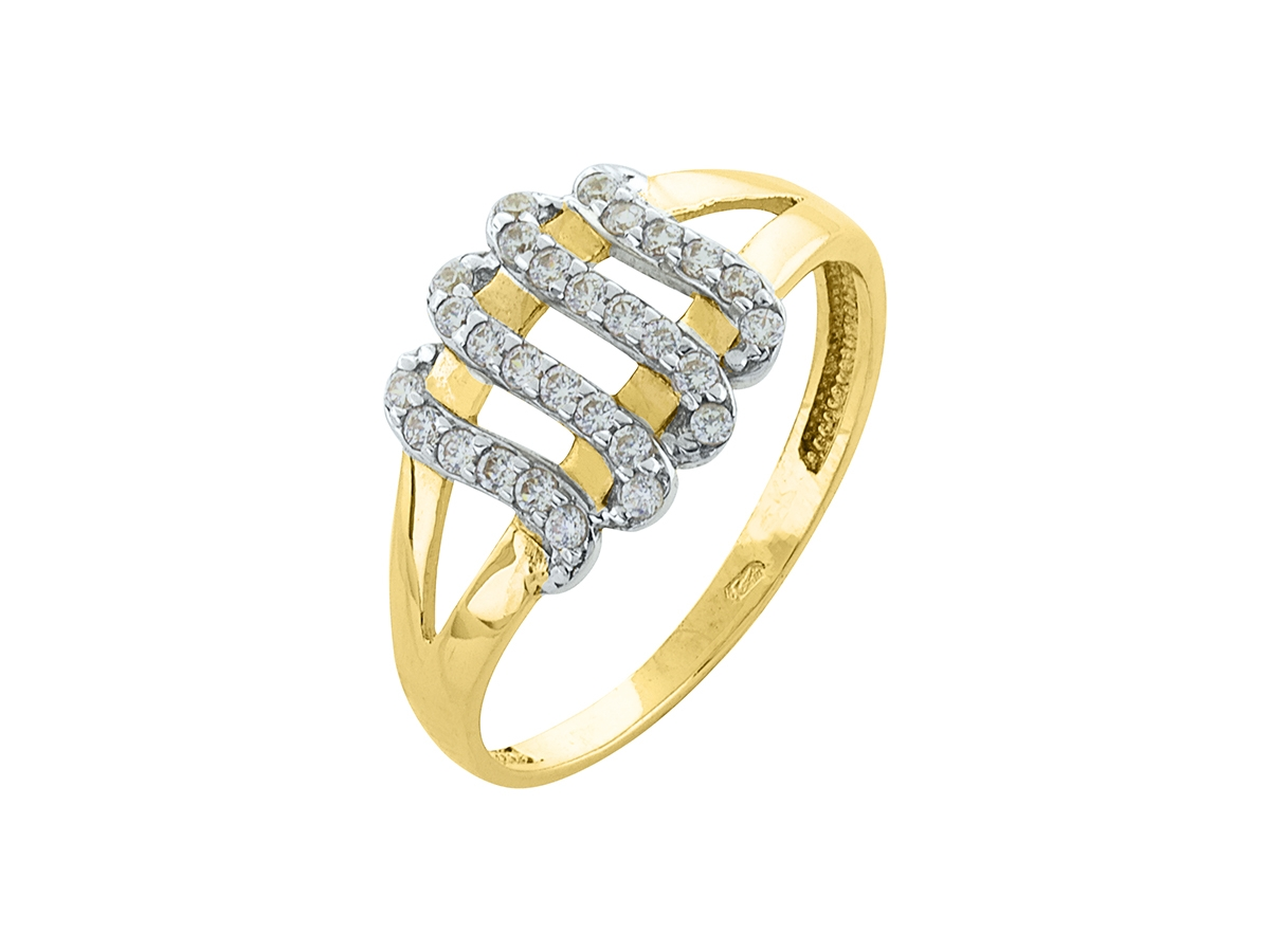 Zlatý prsteň PR21021