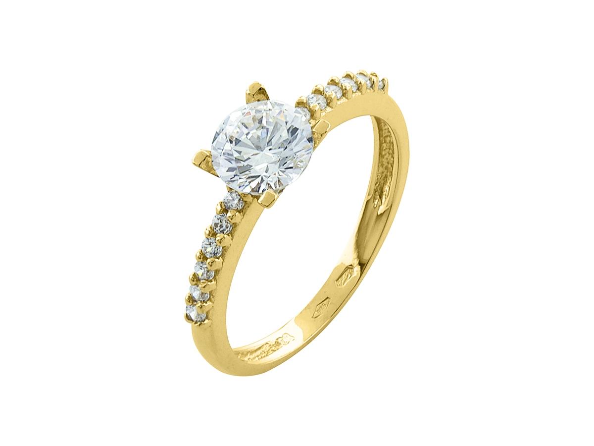 Zlatý prsteň PR21022