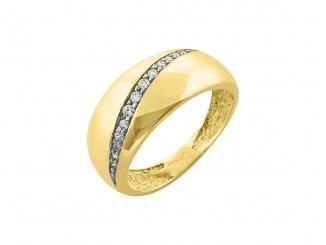 Zlatý prsteň PR21035