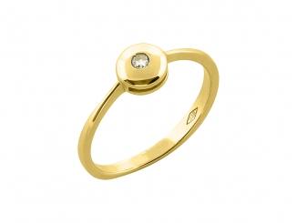 Zlatý prsteň PR21036