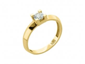 Zlatý prsteň PR21040