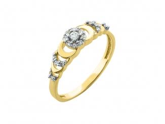 Zlatý prsteň PR21042