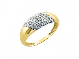 Zlatý prsteň PR21041