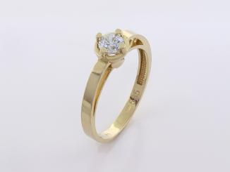 Zlatý prsteň PR21049