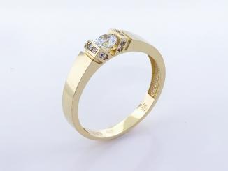 Zlatý prsteň PR21054