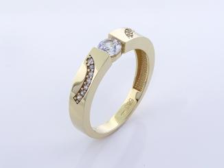 Zlatý prsteň PR21059