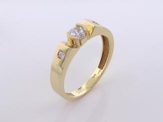 Zlatý prsteň PR21082
