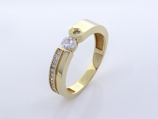 Zlatý prsteň PR21062