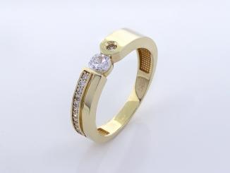 Zlatý prsteň PR21061