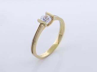 Zlatý prsteň PR21064