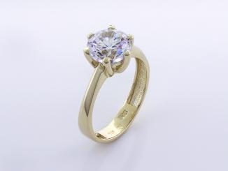 Zlatý prsteň PR21078