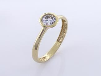 Zlatý prsteň PR21075