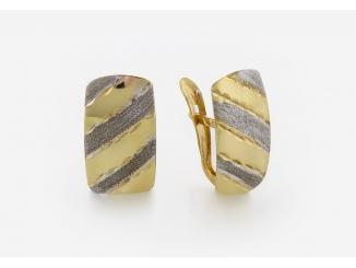 Zlaté náušnice 1DO0027