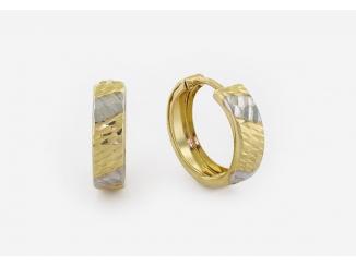 Zlaté náušnice 1DO0033