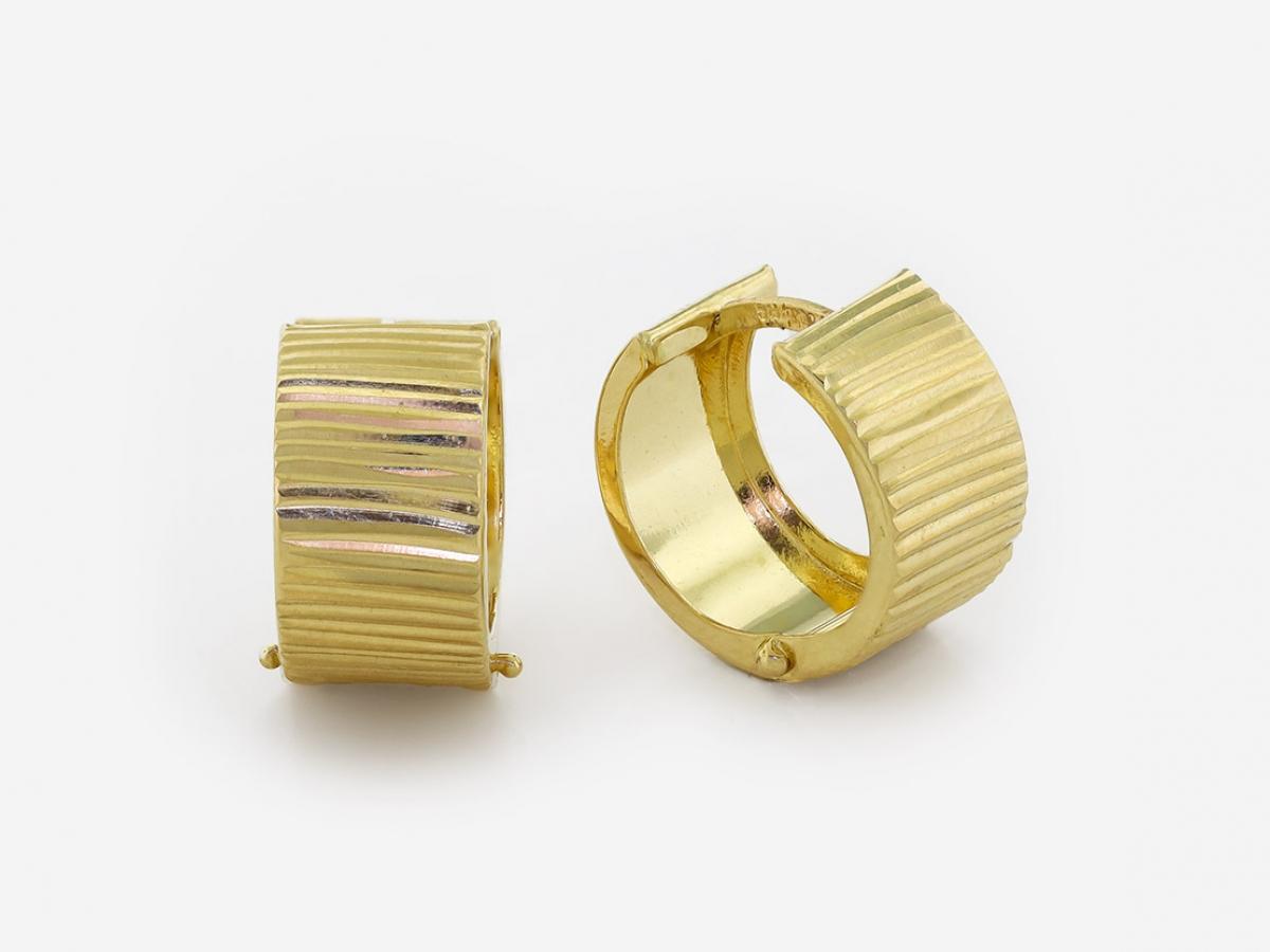 Zlaté náušnice 1DO0036