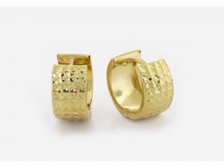Zlaté náušnice 1DO0037