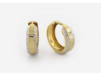Zlaté náušnice 1DO0039