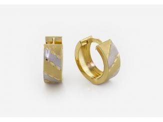 Zlaté náušnice 1DO0040