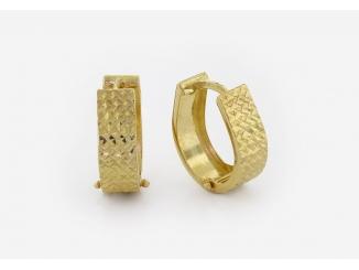 Zlaté náušnice 1DO0045