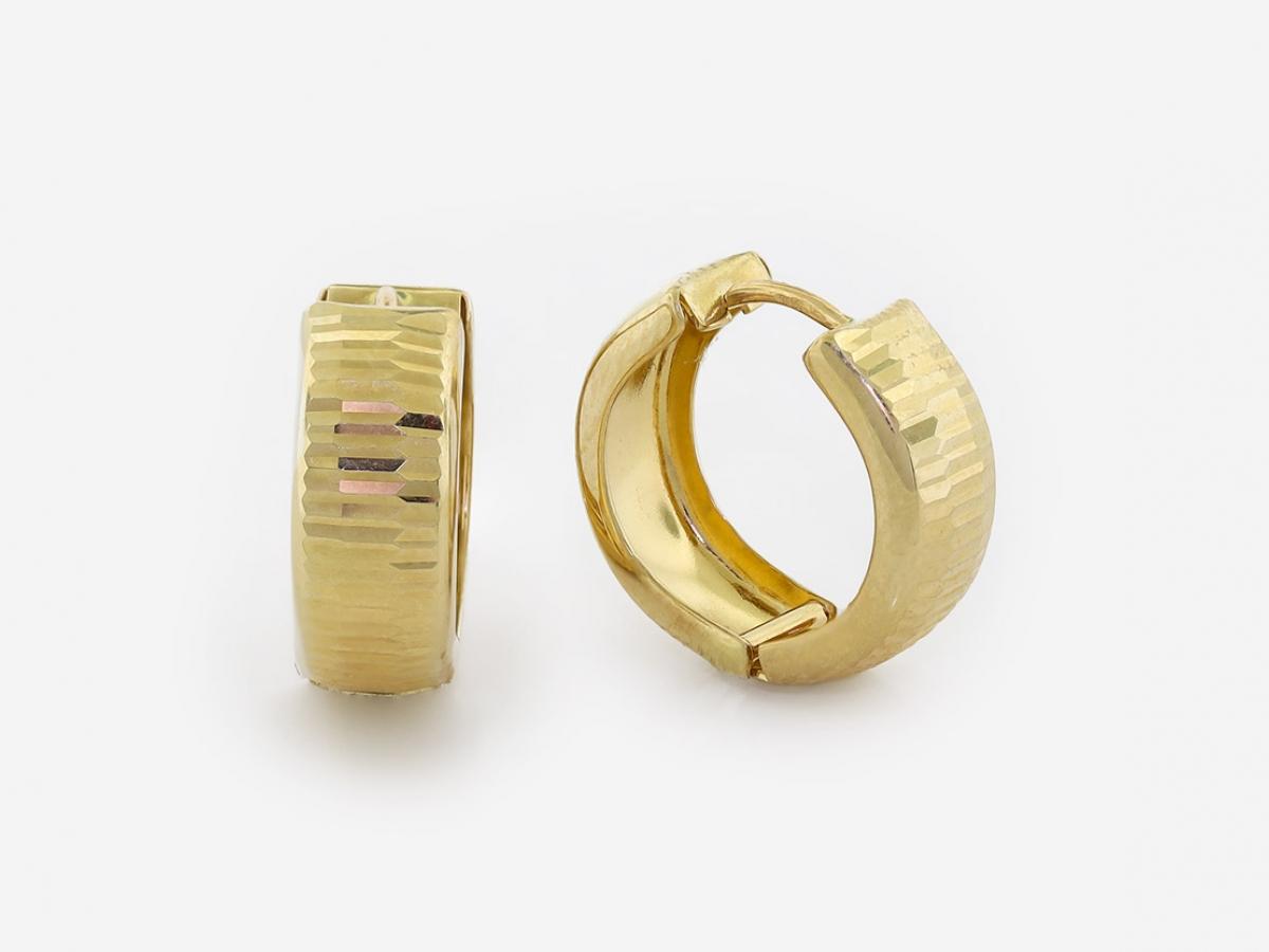 Zlaté náušnice 1DO0050
