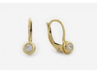 Zlaté náušnice 4DO0062