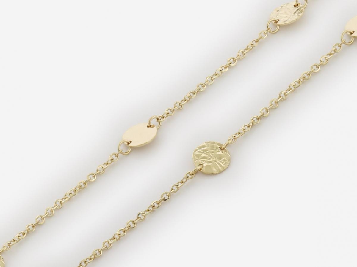 Zlatá dámska retiazka ZR30026