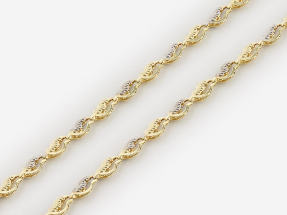 Zlatá dámska retiazka ZR40031