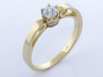 Zlatý prsteň PR21081