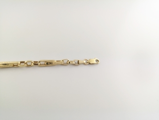 Zlatý pánsky náramok ZN20020