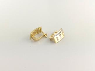 Zlaté náušnice DO20140
