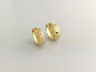 Zlaté náušnice DO20148